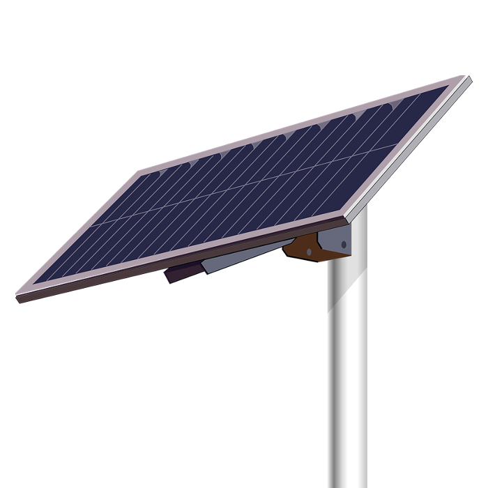 Solar cells for stand alone dataloggers